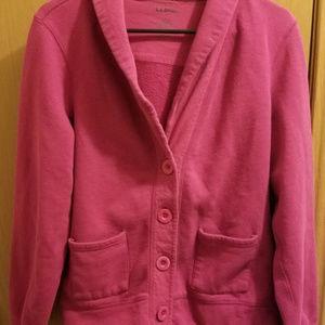 L.L.Bean Fleece Sweatshirt Jacket